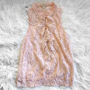 Forever 21 Sleeveless Lace Blouse
